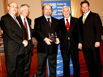 CIPE institutes the 'Hernando de Soto for Democracy' Award